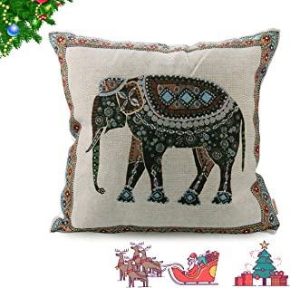 Best indian elephant cushion covers Reviews