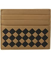 Bottega Veneta - Intrecciato Check Card Case