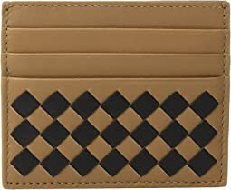 Bottega Veneta Intrecciato Check Card Case
