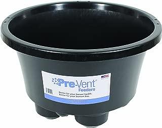 Durvet/Equine D-Pre-Vent Feeder- Black 20X12 Inch