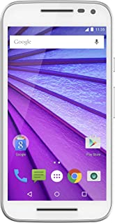 Motorola Moto G (3rd Generation) - White- 8 GB - Global GSM Unlocked Phone