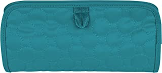 Travelon Jewelry and Cosmetic Clutch, Jade Quilted, One Size