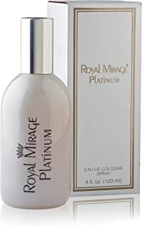 Royal Mirage Platinum Eau de Cologne Perfume for Unisex 120ml