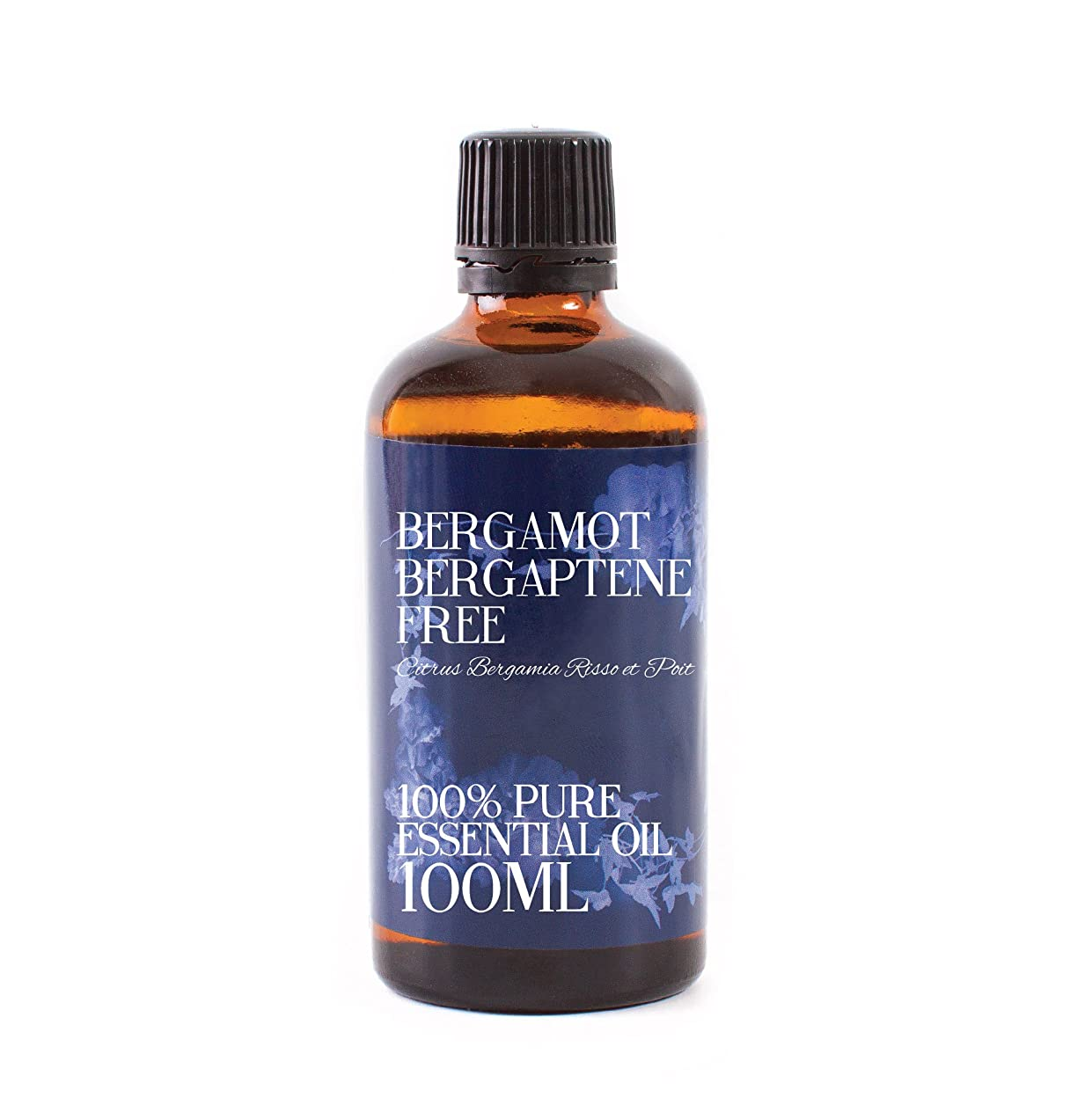 折り目恐れるするMystic Moments | Bergamot Bergaptene Free Essential Oil - 100ml - 100% Pure