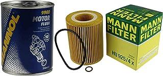 Original MANN Ölfilter HU 925/4 x + SCT Motor Flush Motorspülung