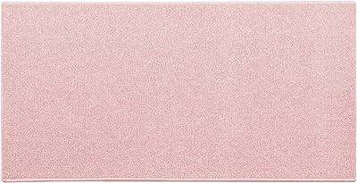 オーダーラグ はっ水ナイロンシンプルループ ペールピンク 幅115cm 長さ225cm 防ダニ 防炎 13134744-MO-154