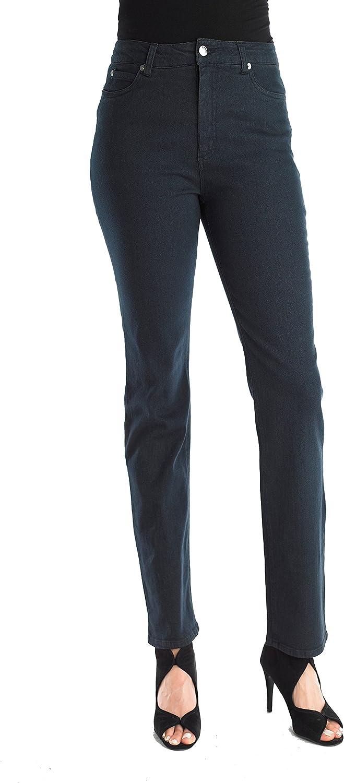 FOCUS 2000 Women's  Comfort Within  Slim Fit Denim Pants