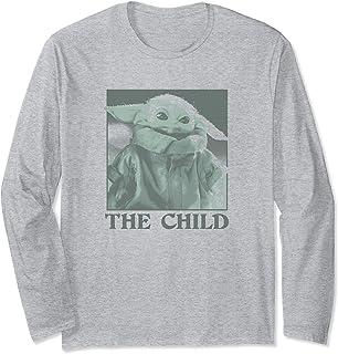 Star Wars The Child Monochrome Manche Longue