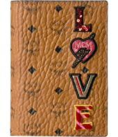 MCM - Love Patch Visetos Passport Holder