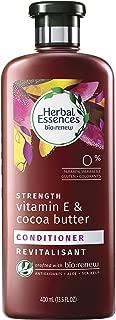 Herbal Essences Biorenew Vitamin E & Cocoa Butter Strength Conditioner, 13.5 FL OZ