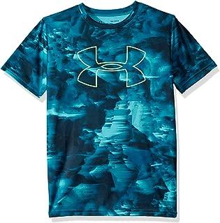 Under Armour Boys' Printed Big Logo T-Shirt