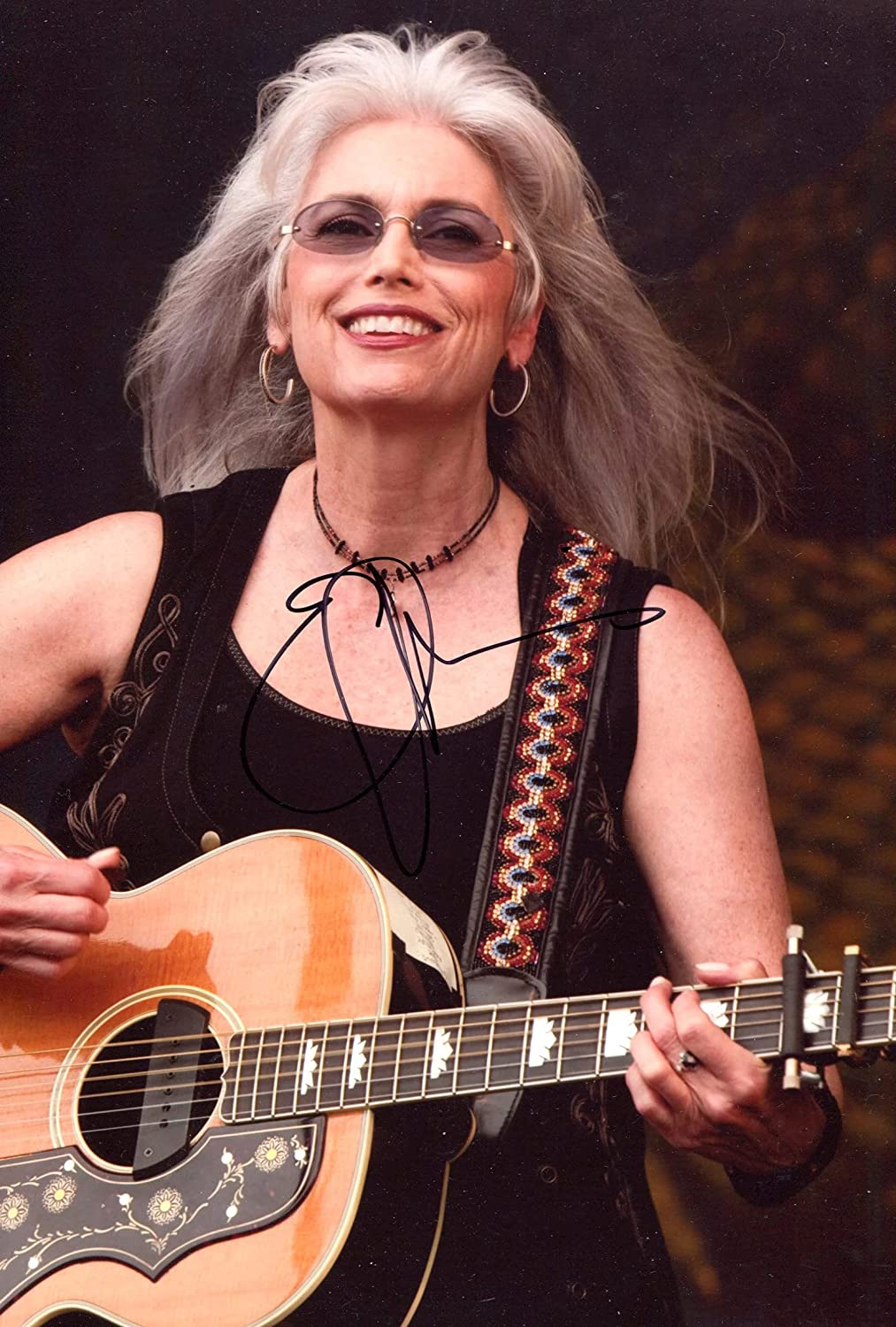 Emmylou Max 63% OFF Harris SINGER - SONGWRITER Surprise price signed autograph In-Person p