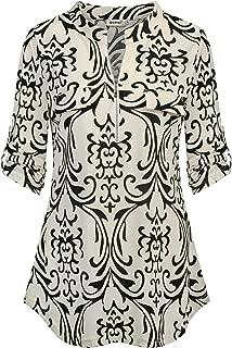 Best womens 3 4 sleeve blouses Reviews
