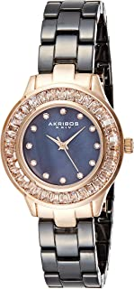 Akribos XXIV Women's Lumin Analogue Display Japanese Quartz Watch