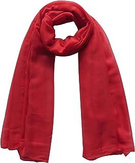 Lina & Lily Plain Color Head Wrap Hijab Muslim Scarf for Women