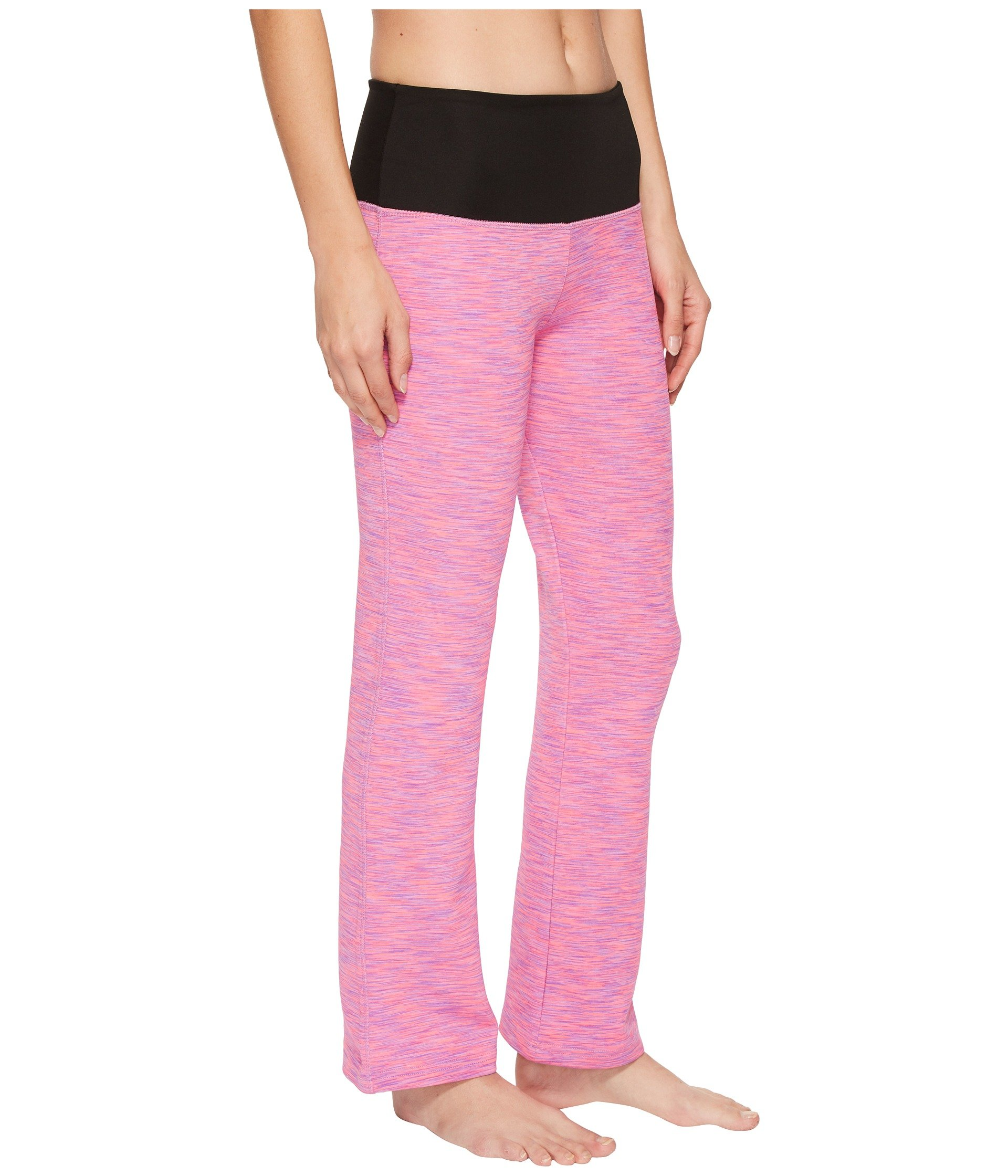 Way Bottom Pants Co Day Yoga Clothing Pink Two Independence black Flare ZqU4pP