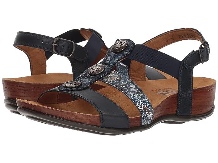 SAS Clover (Navy Multisnake) Women's Shoes