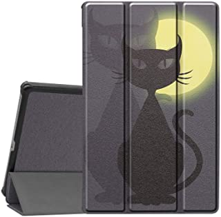 Case for Lenovo Tab M10 FHD Plus, Ratesell Lightweight Smart Trifold Stand Microfiber Lining Case Cover with Auto Wake/Sle...