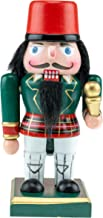 Clever Creations Traditional Wooden Chubby Polish Nutcracker - Festive Christmas Décor - Perfect for Shelves and Tables - ...