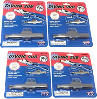 Toysmith Diving Sub Toy (4-Pack)