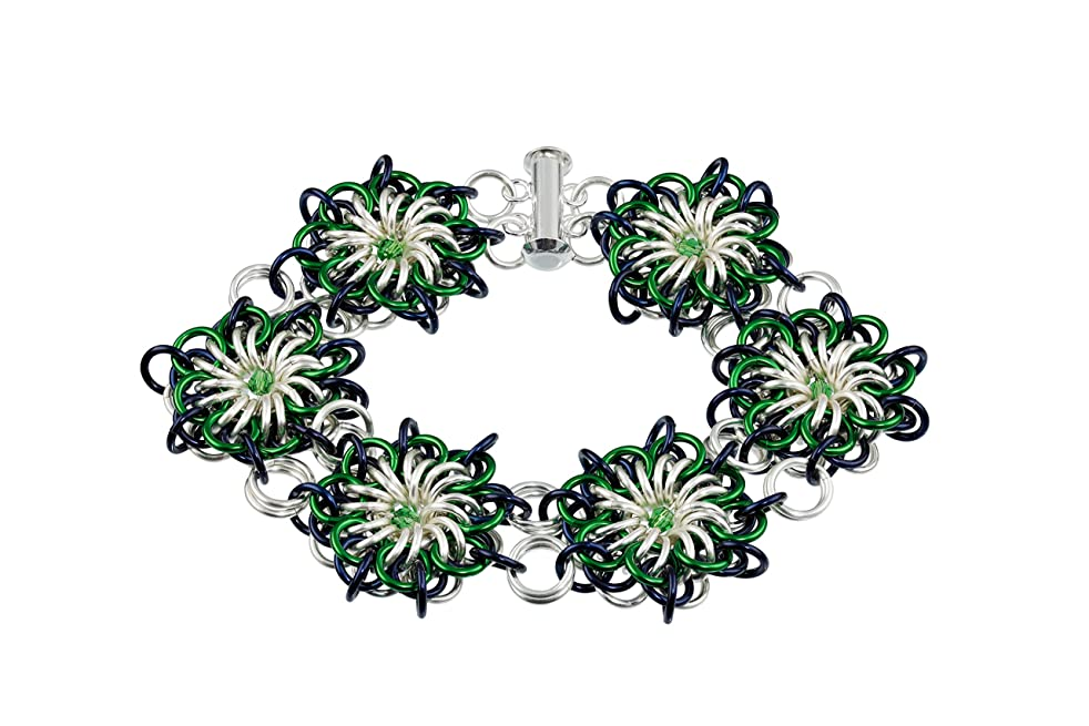 Weave Got Maille Flares Reversible Chain Maille Bracelet Kit, Polo