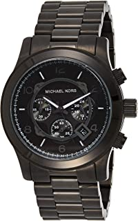 Michael Kors Mens Quartz Watch, Chronograph Display and Stainless Steel Strap MK8143