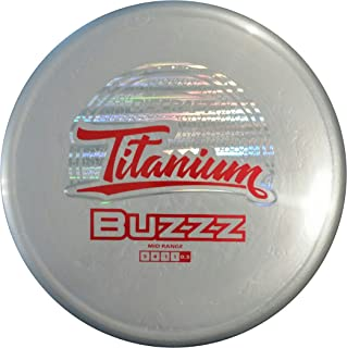 Discraft Titanium Nate Doss Buzzz Midrange Golf Disc [Colors May Vary]