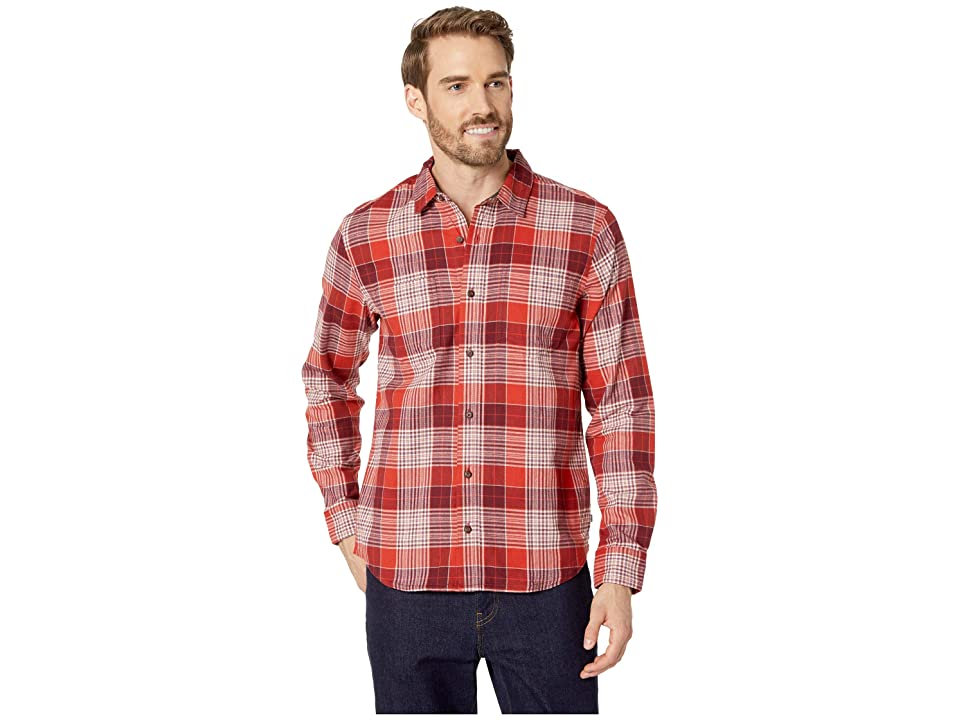 Toad&Co Flannagan Long Sleeve Shirt (Barbera Red) Men