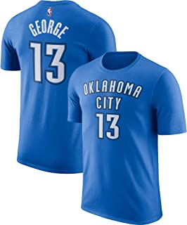 Paul George Oklahoma City Thunder #13 Youth Blue Name and Number Youth T-Shirt