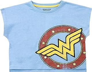 DC Comics Camiseta Corta para Niñas Wonder Woman