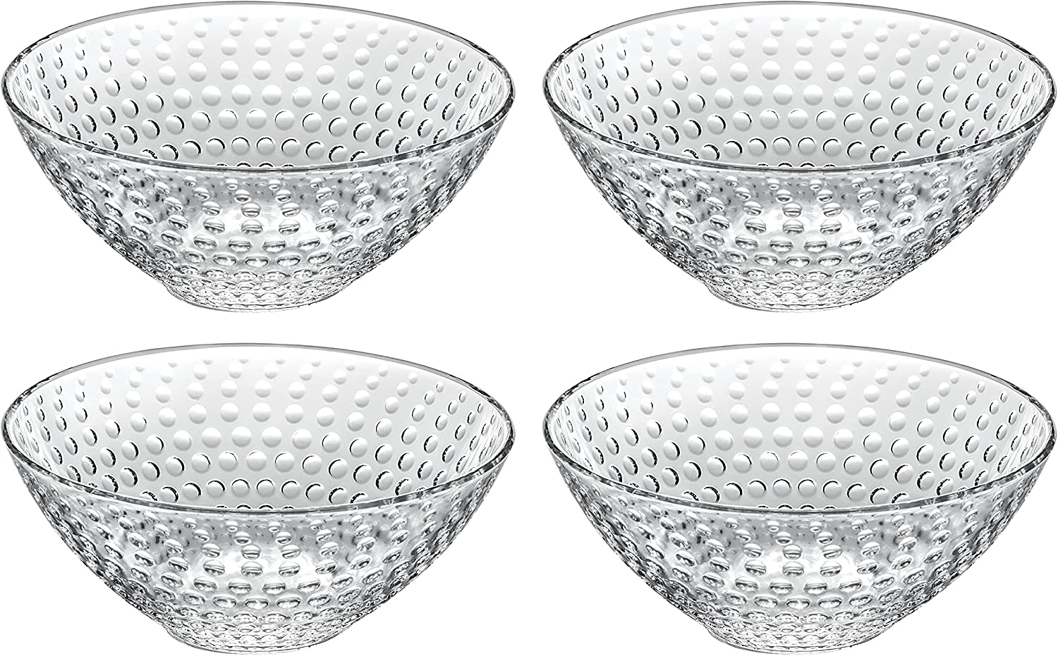 Ranking TOP5 Glass Bowl - For Dessert Salad Chocol Fruit Ranking integrated 1st place Pasta Nuts