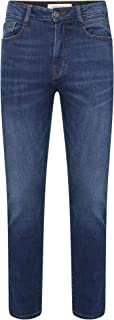 M17 Men's Skinny Fit Denim Jeans Casual Classic Boys Trousers Pants Cotton Zip Fly