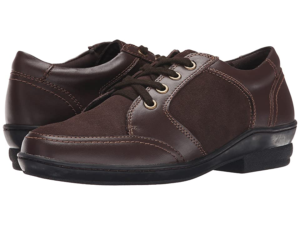 David Tate Helen (Brown Soft Calf/Suede) Women