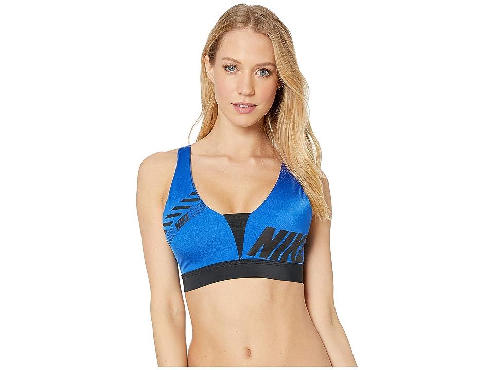 Nike Sport Distort Indy Plunge Bra (Game Royal/Black) Women