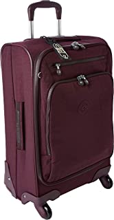 Kipling Youri Spin 55 Luggage 33 L Dark Plum