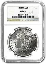 1883 CC Morgan Dollar MS-63 NGC $1 MS-63 NGC