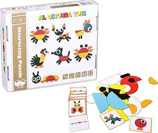 AL OSTOURA Educational Toys Wooden Puzzle of Animal