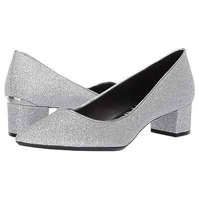 Calvin Klein Genoveva Pump (Silver Dusty Glitter) Women