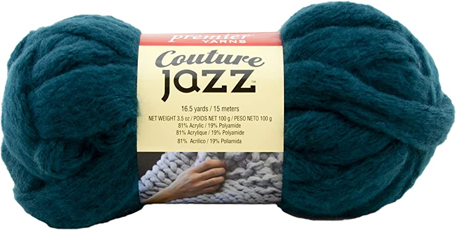 Premier Yarns 26-38 Couture Jazz Yarn-Teal