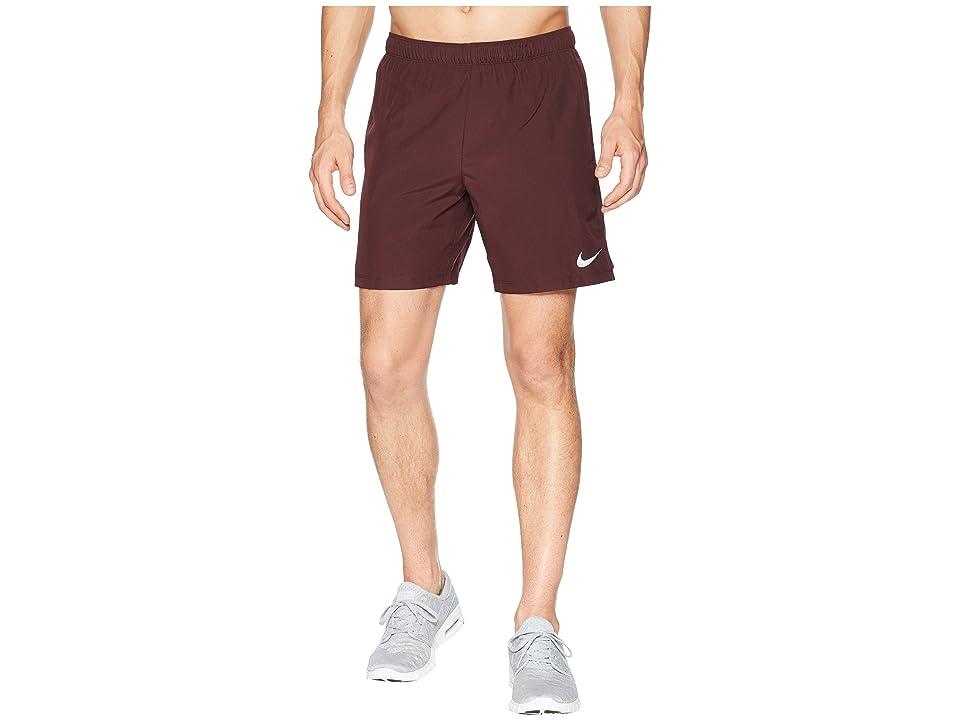 Nike Challenger 7 Dri-Fit Running Short (Burgundy Crush/Burgundy Crush) Men