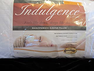 Indulgence Back/Stomach King Sleeper Pillow by Isotonic 36