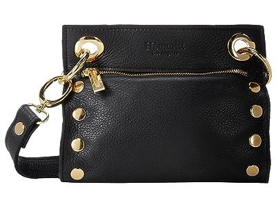 Hammitt Tony Small (Black/Gold) Cross Body Handbags