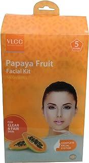 VLCC Papaya Fruit Facial Kit Salon Series Complete Facial System