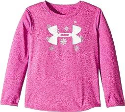 Big Logo Snowflake Long Sleeve (Toddler)