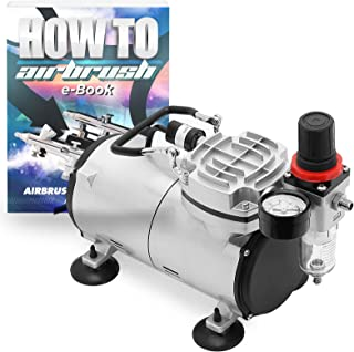 Best central pneumatic oilless airbrush compressor Reviews