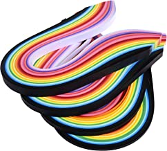 COSMOS 1040 Strips 26 Colors Paper Quilling Strips, 3mm 5mm 7mm 10mm