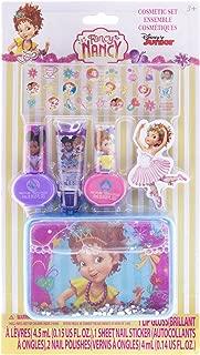 4SGM Townleygirl Fancy Nancy Nail Polish & Stickers with Lip Gloss & Tin