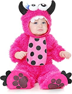 Child Hot Pink Little Cute Monster Madness Dragon Costume