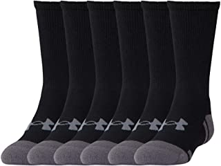 Under Armour Youth Resistor 3.0 Crew Socks, 6-Pairs