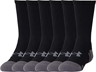 Youth Resistor 3.0 Crew Socks, 6-Pairs